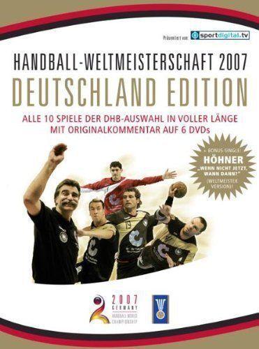1 von 1 - Handball WM 2007 - Deutschland Edition (6 DVDs + Höhner CD) Zustand NEU in Folie