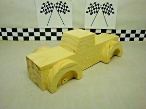 Pinewood Derby Pre-cut #71 Steam Roller Wedge With Fenders Nothing Else Like It!