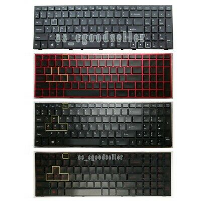 NEW For Clevo P157SM-A P150SM-A Keyboard Backlit US WIN KEY Bottom Left
