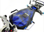 Pour-Traxxas-1-10-Controle-Radio-Voiture-mise-a-niveau-Slash-2wd-Galaxie-compacte-lumineuse-chassis miniature 2