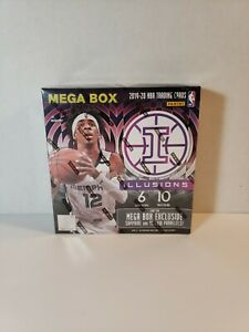 2019-20-Panini-Illusions-Basketball-NBA-Mega-Box-Factory-Sealed