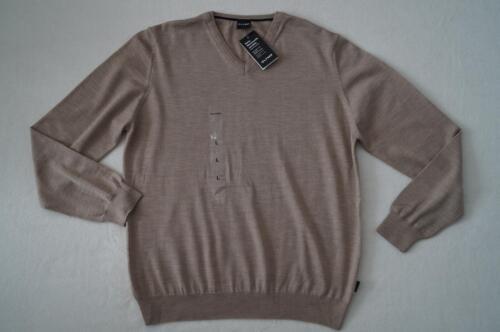OLYMP Pullover Gr.L  100/%Wolle beige NEU
