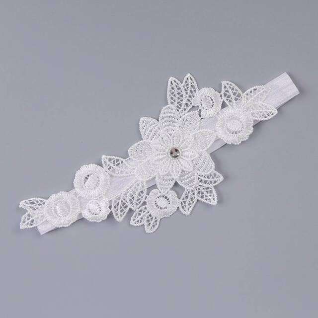 Lace Wedding Garter Flowers Garters Romantic Ceremony