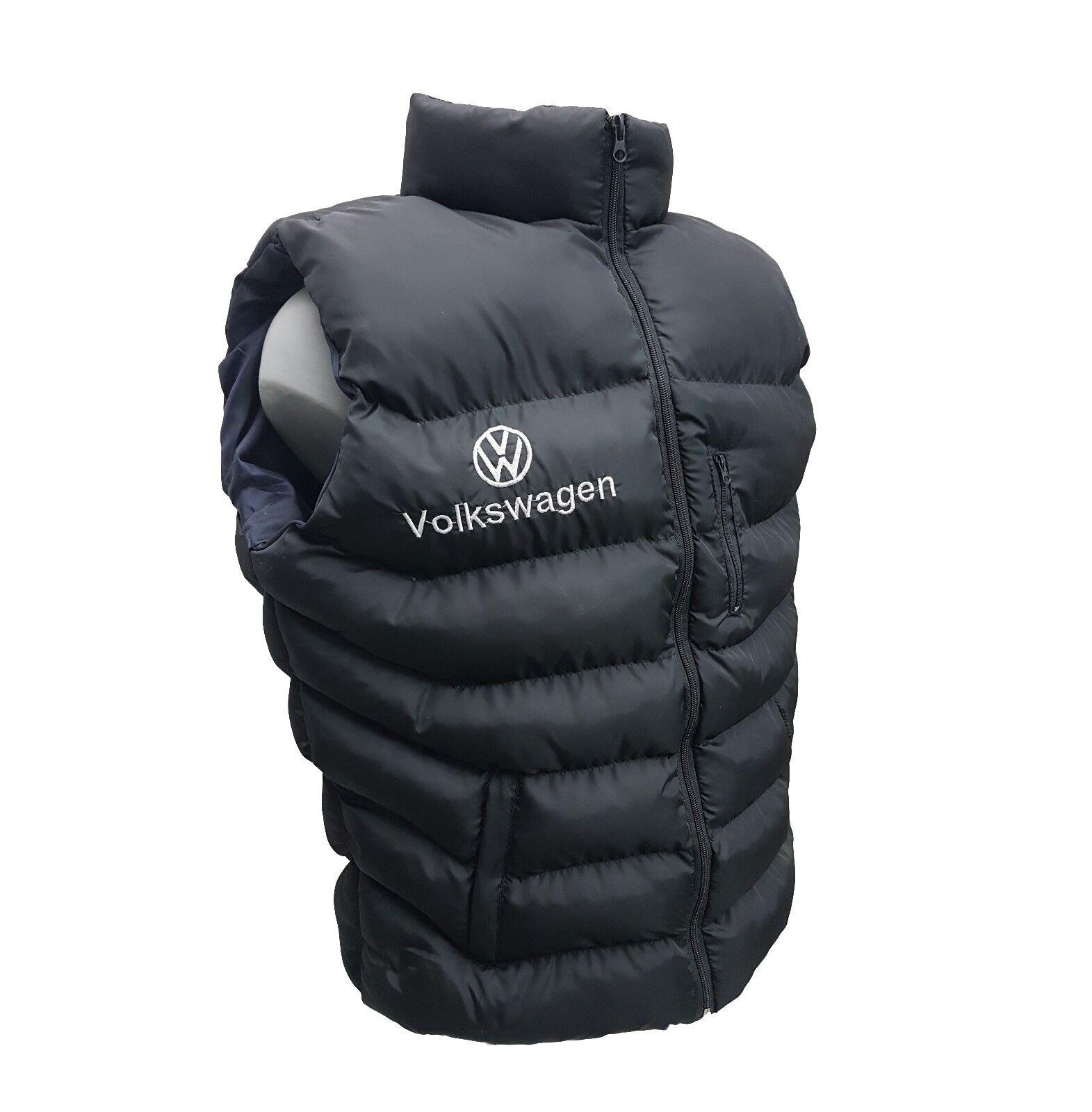 VOLKSWAGEN ujjatlan kabát hímzett logó az első és a hátsó méretben M - XXXL