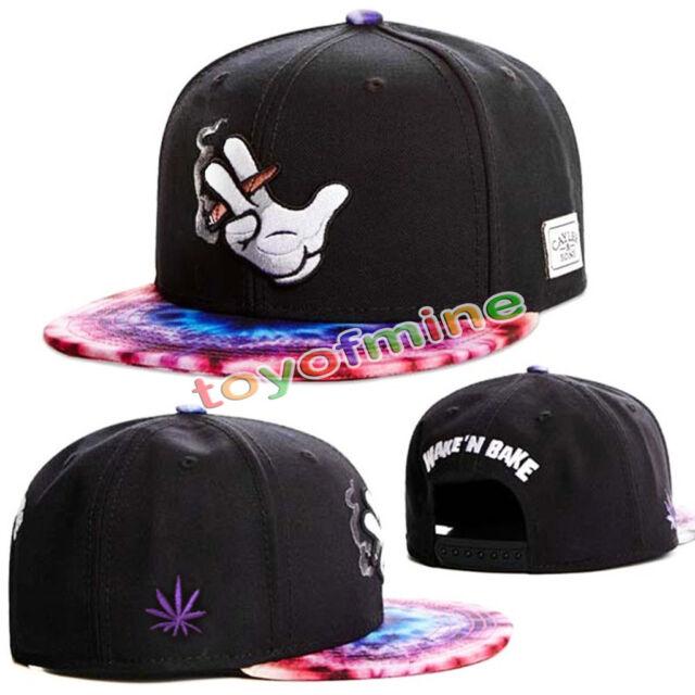 New Men's Fashion bboy brim adjustable baseball cap snapback hip-hop hat