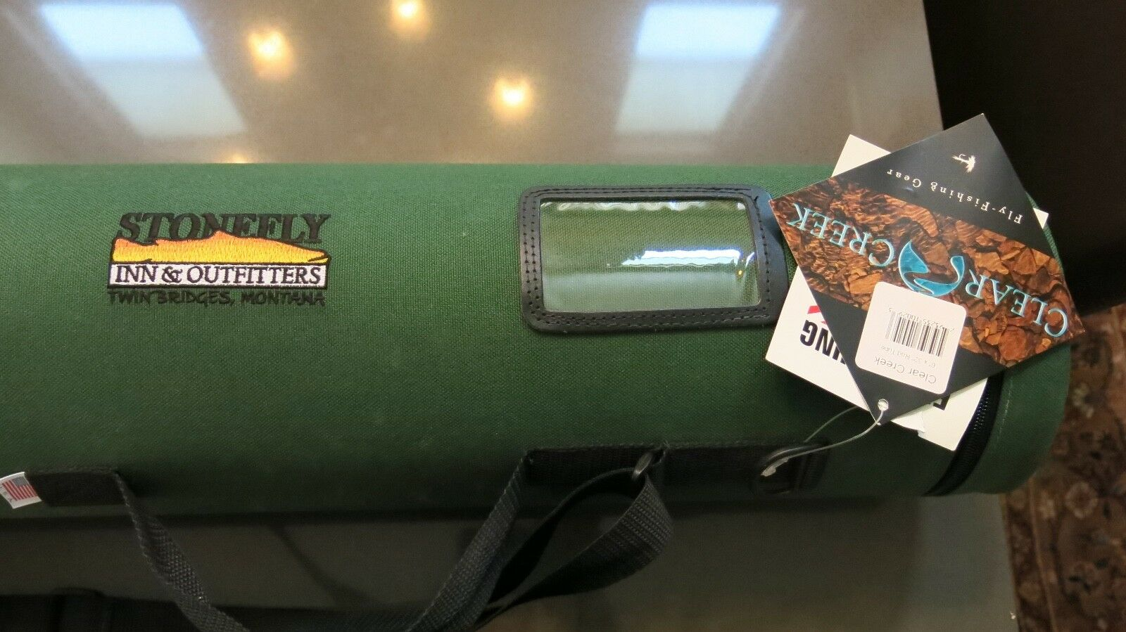 Clear Creek Rod Tube NEW WITH TAGS      excellent prices