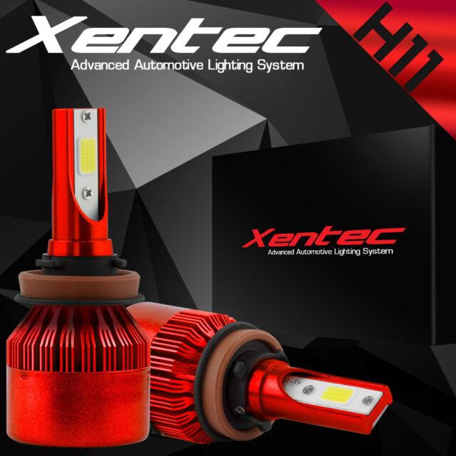 XENTEC LED HID Headlight kit 388W 38800LM H11 6000K for 2010-2016 GMC Terrain