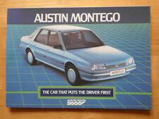 AUSTIN MONTEGO Range Introduction Prestige Brochure 1984 with MG EFi - 3623