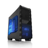 Raidmax Altas Atx Mid Tower Computer Gaming Case Custom Build Leet Game Gear