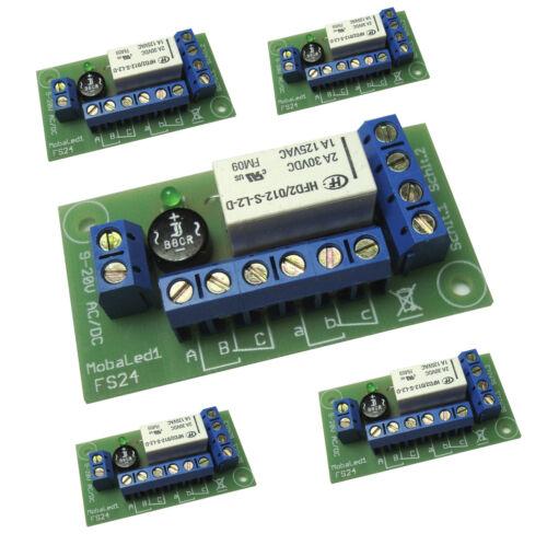 2 conmutador 5 St universal interruptor a distancia fs24 con 9-20v Relais bistabil m