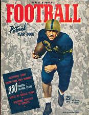 1942 Street Smith Football Yearbook Magazine Allen Cameron Navy