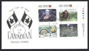 Canada  # 1289 & 1292   FOLKLORE - SPECIAL EVENT CACHET     New 1990 Unaddressed