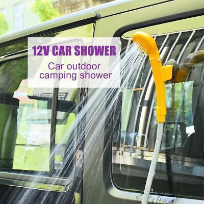 Camping Dusche Brause Tauchpumpe Auto Kfz Caravan Garten Outdoor Pool 12V