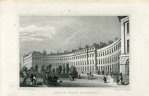 Escocia-Ainslie-Place-Edinburgh-Engraved-1830