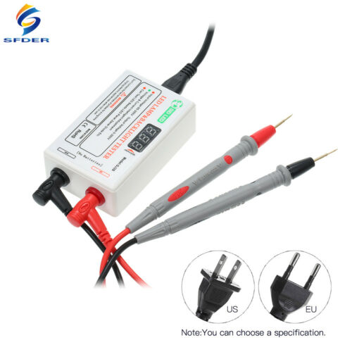 SFDER LCD TV Laptop Backlight Tester Tool for All Size lamp Intelligent Repair