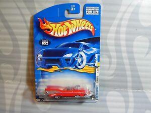 2001 Hot Wheels ''erste Editionen'' #052 = `57 Roadster = Rot Modellbau 0910 Komplette Artikelauswahl