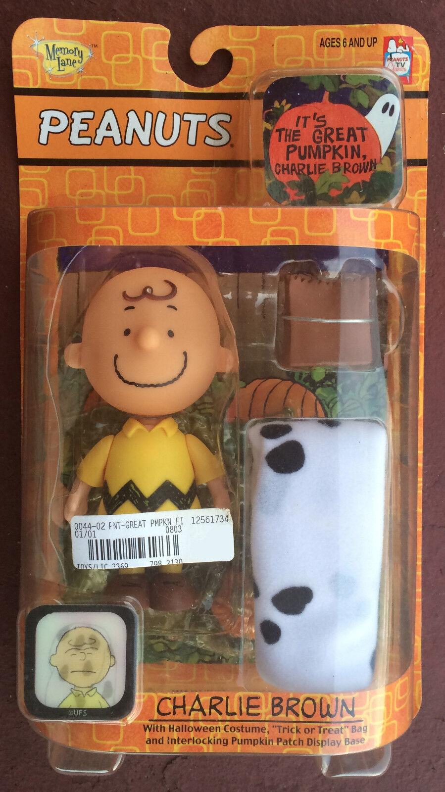 IT IS THE Calabaza, CHARLIE marrón  GREAT Peanuts Halloween juguetes por jugar MANTIS