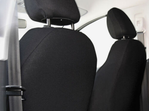 Car seat covers for front seats fit Hyundai ix35 grey pair #2