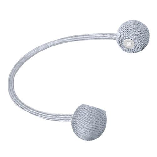 Magnetic Tassel Holdback Curtain Blind Accessories Home Office Decor GR 30cm
