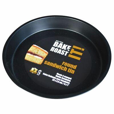 2019 Nuovo Stile Bake & Arrosto è Antiaderente Panino Rotondo Latta 23.5cm-mostra Il Titolo Originale
