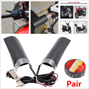 12V-Motorcycle-Quick-Heated-Hand-Grip-Pads-Handlebar-Heater-Warm-W-Adhesive-Tap