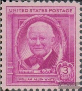 EEUU 573 (completa edición) nuevo con goma original 1948 Wlliam todo White