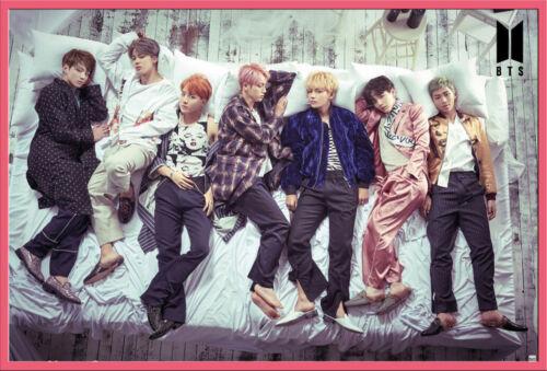 Größe 91,5x61 cm Bangtan Boys BTS Group Bett- Poster Druck