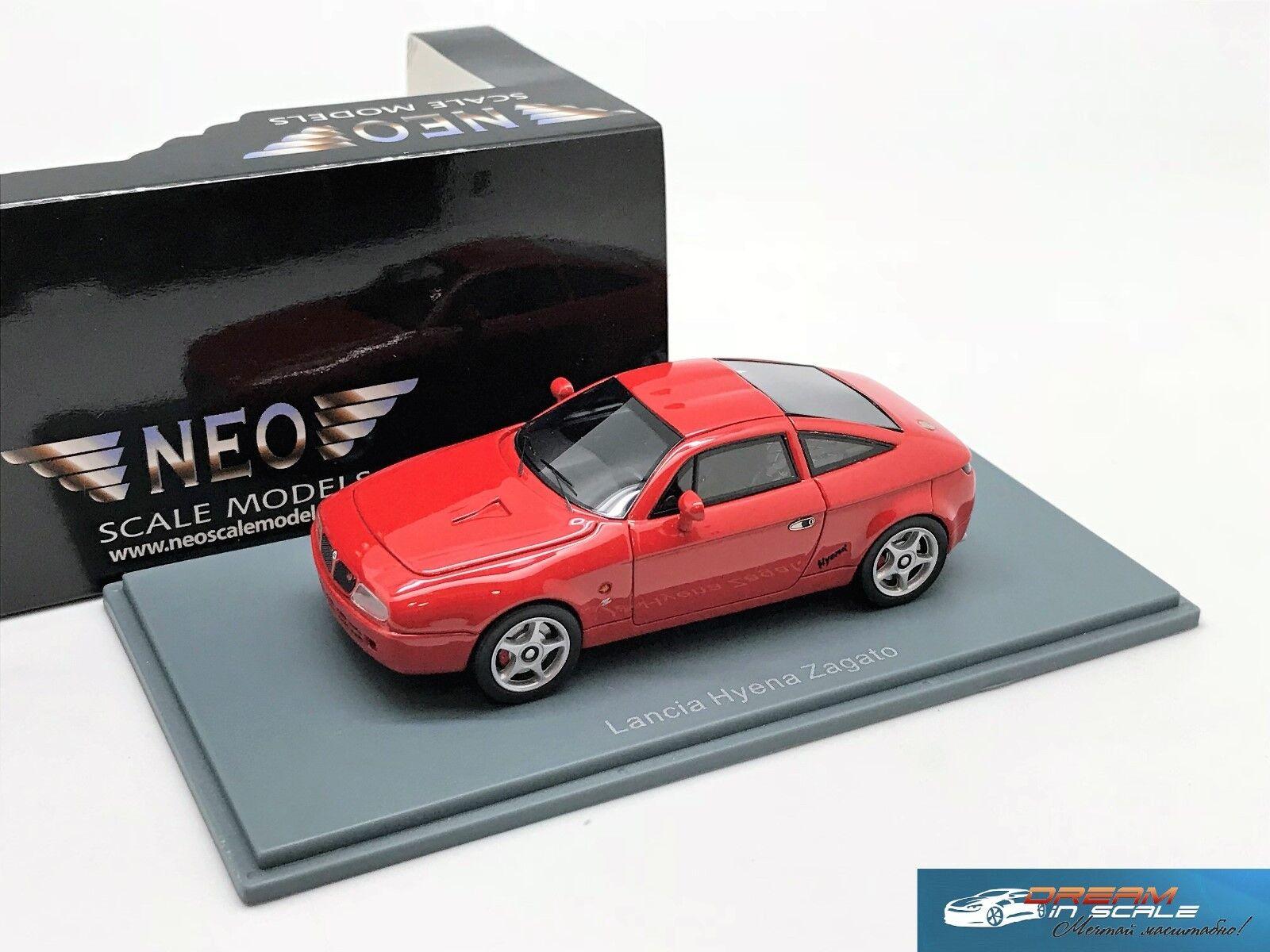 Lancia Hyena Zagato Rouge 1992 NEO45615 1 43