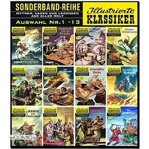 Illustrierte-Klassiker-Sonderband-1-15-Extra-1-3-Auswahl-BSV-CCH-COMIC-NEU