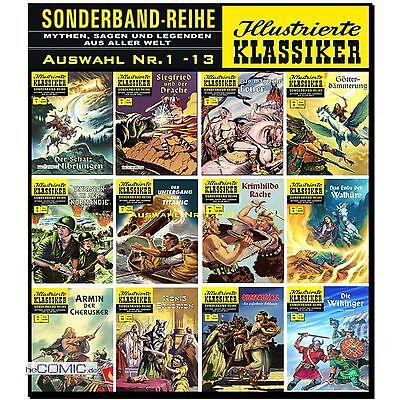 Illustrierte Klassiker Sonderband 1 - 15 Extra 1 - 3 Auswahl BSV CCH COMIC NEU