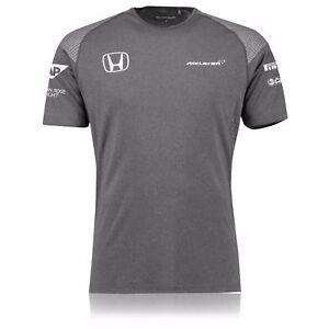 """McLaren Honda 2017 Team Men/'s Set Up T-Shirt 3XL Chest 46-48/"""" Size"""
