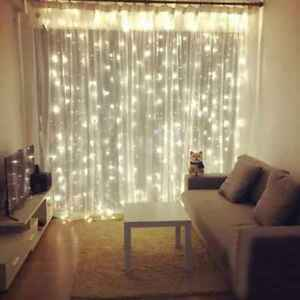 Details about Home Light Window Curtain Wall Decor LED Strings Lamp  Christmas Party Light