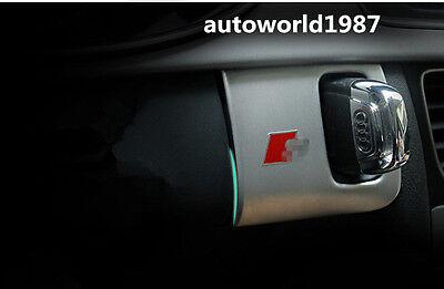 1*Interior Middle Console Key Hole Frame Cover Trim For BMW X6 E71 2009-2014
