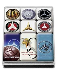 Genuine Mercedes Benz classic magnet set B66041558