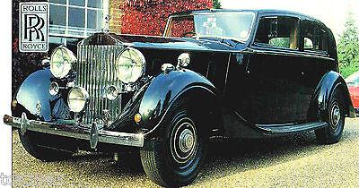 Rolls-Royce SILVER WRAITH SPEC SHEET//Brochure:1950 RR