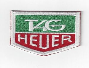 NEW 3 INCH TAG HEUER IRON ON PATCH FREE SHIPPING