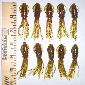 ORIGINAL-B-2-SQUIDS-3-INCH-LURES-B2-SQUID-BODIES-FLUKE-SEABASS-ULTRAVIOLET-UV