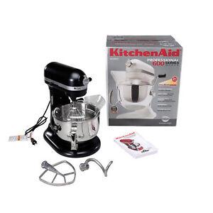 KitchenAid KP26M1X 6Qt Professional Metal Stand Mixer 10 Speed ...