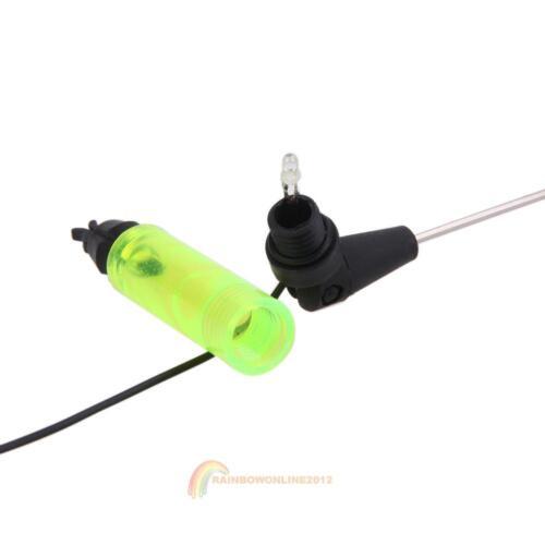 Fishing Bite Alarm Hanger Swinger LED Illuminated Indicator Fishing Tackle Green