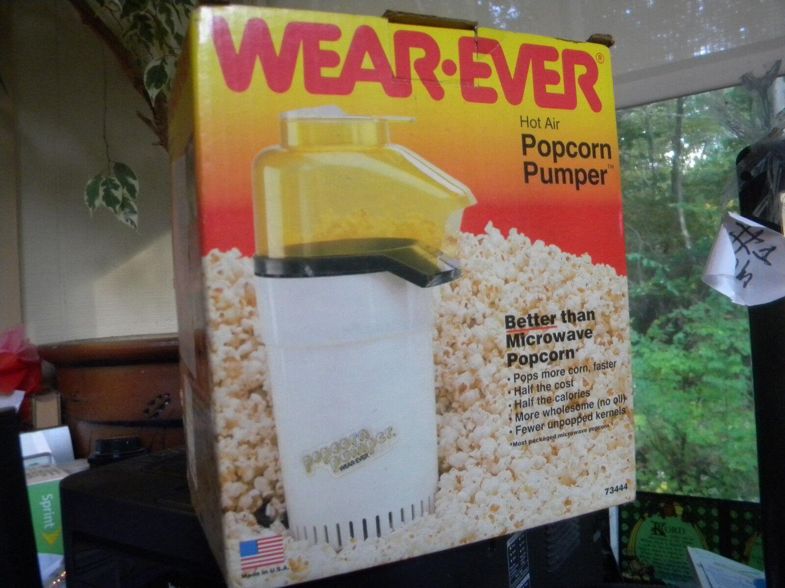 VINTAGE  WEAR EVER  HOT AIR  POPCORN PUMPER