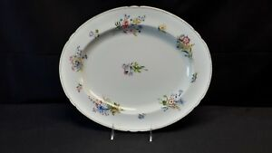 Shelley-Wild-Flowers-13686-Gainsborough-Gold-Trim-Oval-Serving-Platter