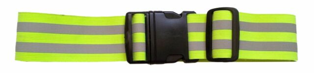 New High Visibility LW Reflective Safety Belt Running Jogging Walking Biking