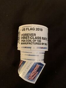 US Postage Forever 2019 Stamps Roll Of 100