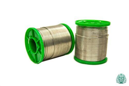 Soudure Etain sn99cu1 Dia 1,5 mm avec flüssmittel 2,5/% sans plomb 25gr-1kg