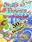 Tattoo Coloring Book Skulls & Flowers  : Skulls & Flowers by Lisa Foshee (Paperback / softback, 2013)