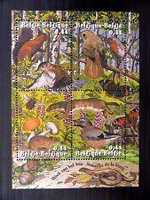 Belgio 2004 Animale Foresta settimana M/foglio ms3857 U/M fp9644