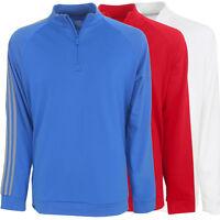 Adidas Golf Men's 3-stripe 1/4 Zip Layering Top