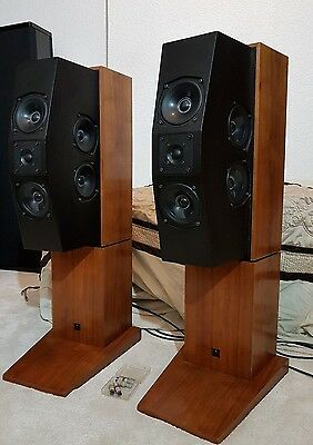 meridian interactive loudspeakers m10  boothroyed stuart ( kef units )