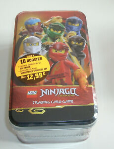 30 carte base LEGO Ninjago serie 5 Trading Card Game-Mega Tin vuoto