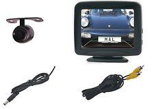 """Rückfahrkamera mit 3.5"""" Monitor Weitwinkel 170° für Unterbaumontage Modell E306"""